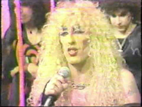 Twisted Sister Interview on Nickelodeon's Livewire