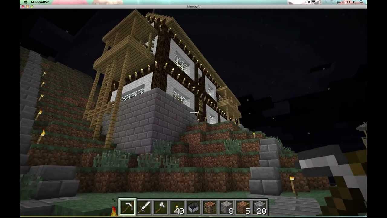 Minecraft una villa niente male parte 2 youtube for Case belle su minecraft