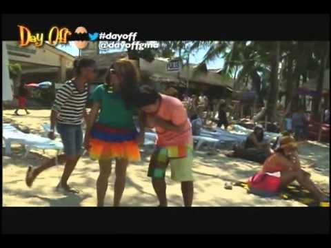 Day Off GMA NEWS TV Featuring TravelOnline Boracay Packages Episode 3