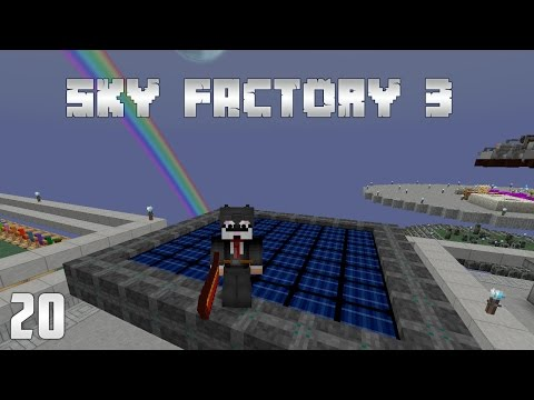 Sky Factory 3 EP20 - Mystical Agriculture Automation PT2 Sol