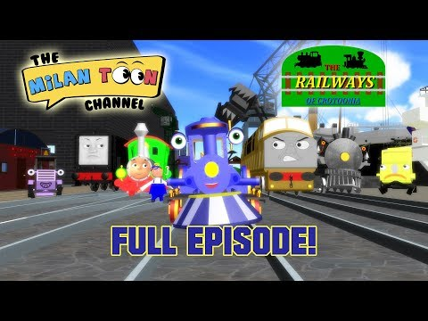 Tracy The Harbour Engine (Episode 4) | The Railways Of Crotoonia