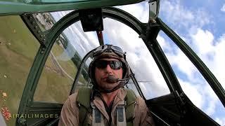 Flying in P-40N American Dream at SUN 'n FUN 2019