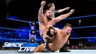 Video Rusev vs. The Miz - Gauntlet Match Part 4: SmackDown LIVE, June 19, 2018 download MP3, 3GP, MP4, WEBM, AVI, FLV Juni 2018