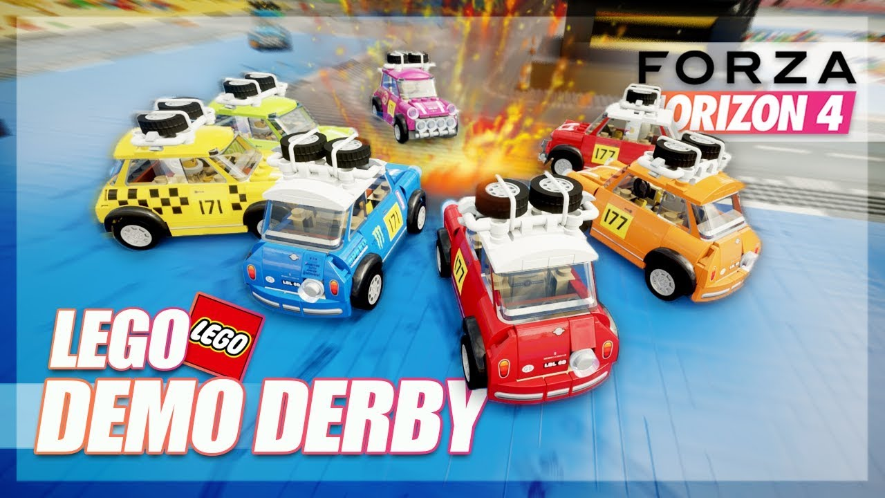 Forza Horizon 4 - Lego Demolition Derby! (New Expansion Online) thumbnail