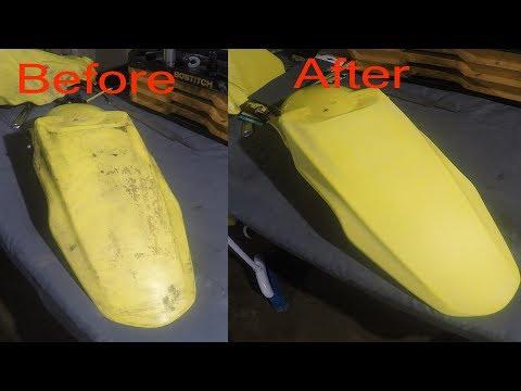How to Restore Plastics (The sandpaper way)