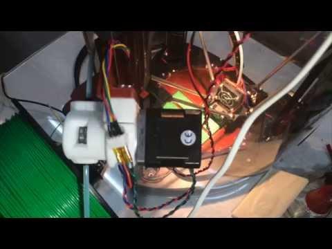 BondTechV2 extruder : Retract condition test 01
