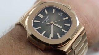patek Philippe Nautilus 5711/1R-001 Rose Gold Watch Review