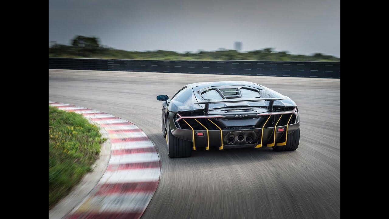 Essai Lamborghini Centenario 2016 Youtube