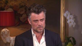 josh duhamels emotional entertainment tonight interview