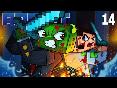 Minecraft: ADRIFT - SPAWN OF THE DEAD!! (Ep.14)