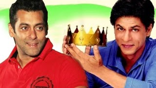 Salman Khan calls Shahrukh Khan the KING of Bollywood!