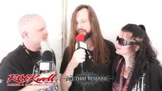 All That Remains with ROCKwell UnScene at Aftershock 2015