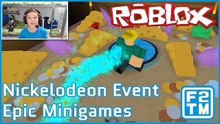 Roblox Nickelodeon Events - Epic Minigames - Legends of the Hidden Temple | Silver Monkey