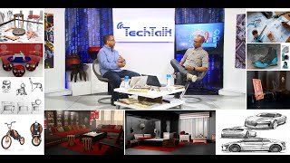 S7 Ep.9 Pt.1 - Design & Technology with Industrial Designer Jomo Tariku - TechTalk with Solomon