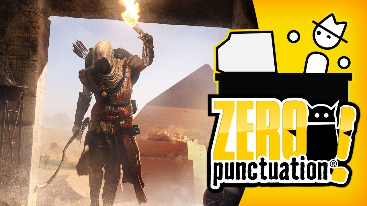 Assassin   creed origins zero punctuation also youtube rh