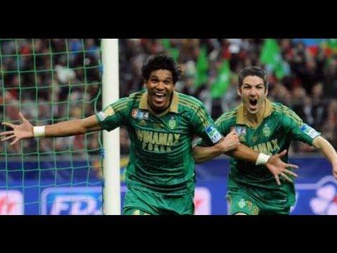 Amazing goal Brandao Saint-Etienne 1-0 Rennes - Final Coupe de la Ligue