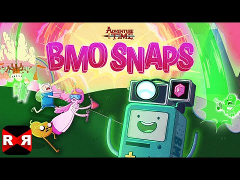 BMO Snaps - Adventure Time Photo Game (by Cartoon Network) - iOS / Android - Gameplay Video