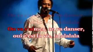 Cheb khaled c'est la vie karaoké(by AMESSO)