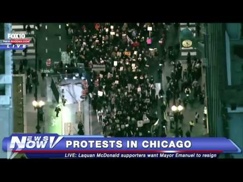 FNN: Laquan McDonald Supporters Protest in Chicago to Remove Mayor Emanuel