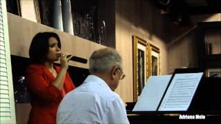 """05 - Adriana Melo - """"E eu penso em Jesus"""" (Ensaio)"""