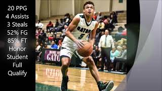 2018 Grant Singleton Recruitment Video Lakewood High School Sumter, SC