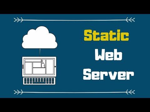 Setup A Web Server (NodeJS) To Serve Simple HTML Pages