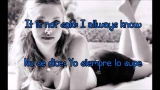 Little house - Amanda Seyfried Lyrics (Subtitulado español-Inglés) Dear John
