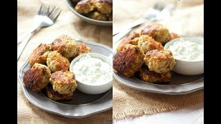 Healthy Greek Style Turkey Meatballs Recipe