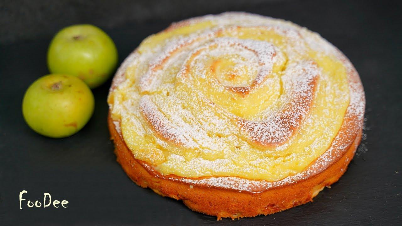 Вместо ШАРЛОТКИ! Очень ВКУСНЫЙ пирог с яблоками и заварным кремом! Простой яблочный пирог