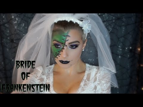 Bride of Frankenstein Makeup Tutorial thumbnail