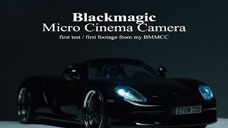 Blackmagic Micro Cinema Camera first test / footage