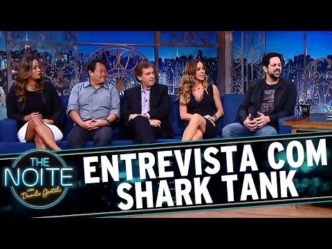 The Noite (04/10/16) - Entrevista com elenco do Shark Tank Brasil