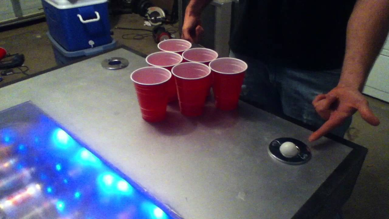 Homemade beer pong table - Homemade Beer Pong Table 9