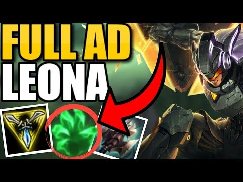 #1 LEONA NA PLAYS LEONA TOP! THIS BUILD IS SO BUSTED!! || Leona Top