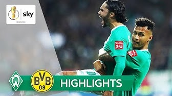 Werder haut BVB aus dem Pokal  | Bremen - Dortmund 3:2 | Highlights - DFB-Pokal 2019/20