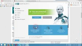 How to active ESET Smart Security