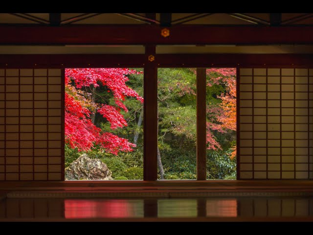 JG  HDR 京都 南禅院の紅葉(名勝,重文) Kyoto,Nanzen-in(Scenic Beauty,Cultural Property)