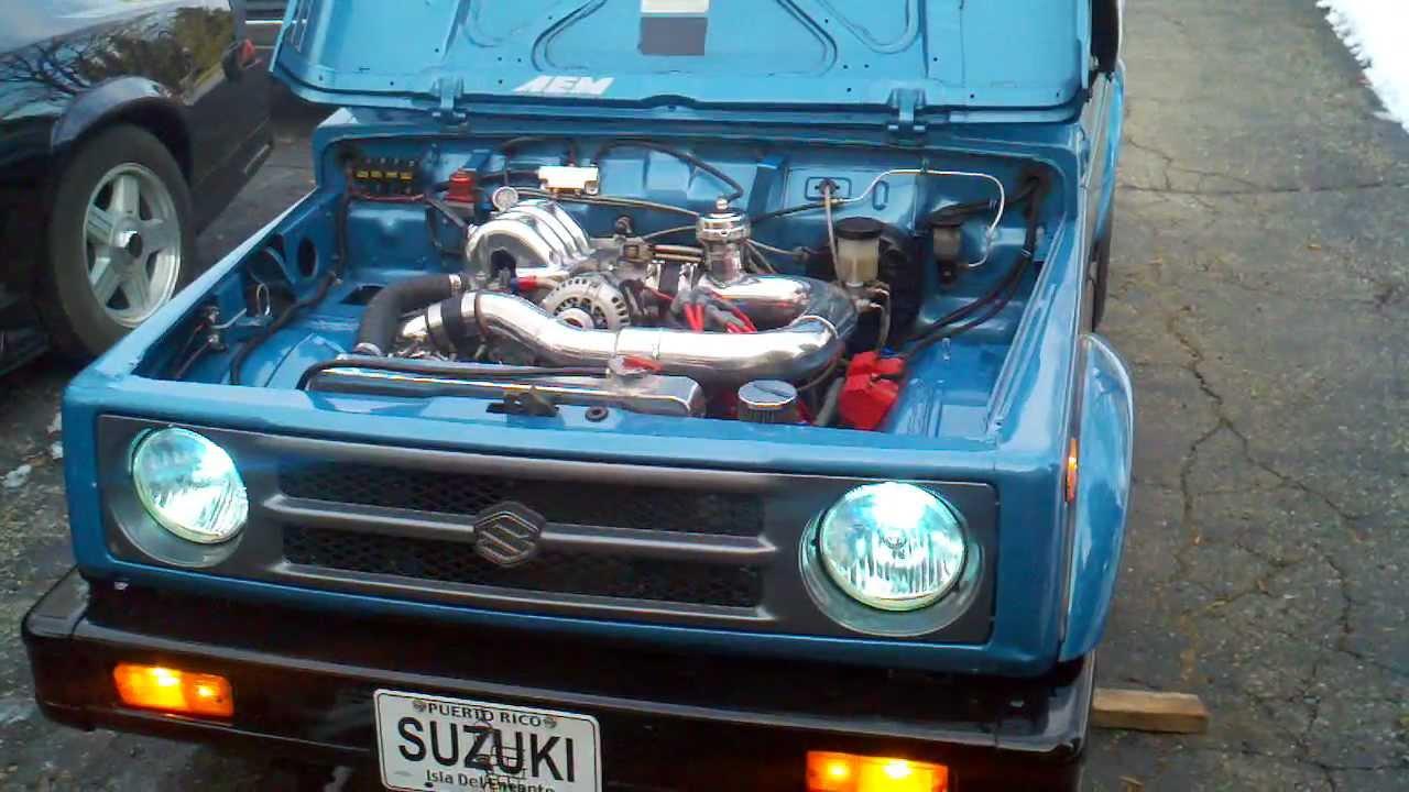 Suzuki Samurai Engine Swap