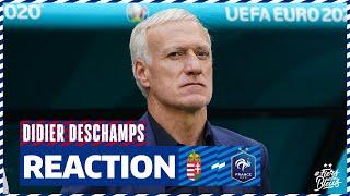 La réaction de Didier Deschamps, Equipe de France I FFF 2021