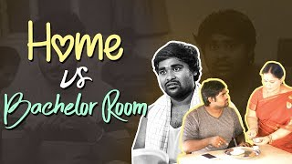 Home VS Bachelor Room || BUMCHICK BABLOO || Tamada Media