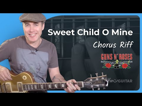 How to play Sweet Child O' Mine [#4 CHORUS RIFF] Guns 'n' Roses – Guitar Lesson Tutorial (ST-378)