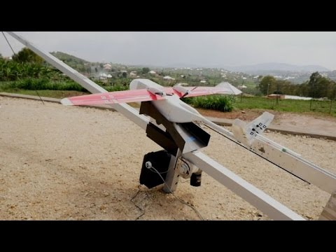 Medical delivery drones take flight over Rwanda