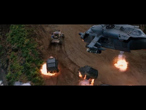 Погоня с вертолётом . Часть-2 \ Форсаж: Хоббс и Шоу Fast & Furious Presents: Hobbs & Shaw