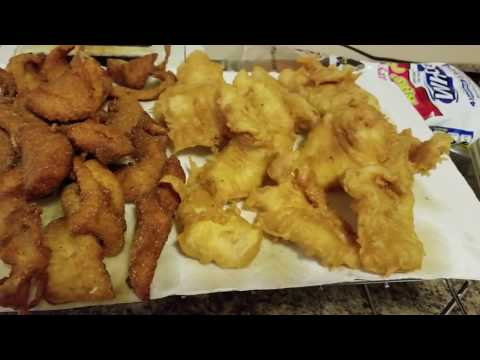 Catch and Cook Walleye/Crappie Video