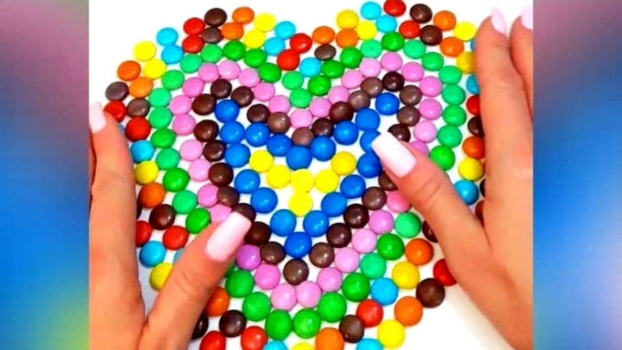 Satisfying Video l Mixing Candy   ASMR  #shorts