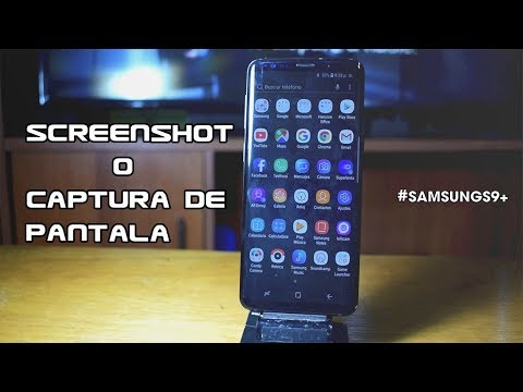 How to screenshot on samsung galaxy 9 plus