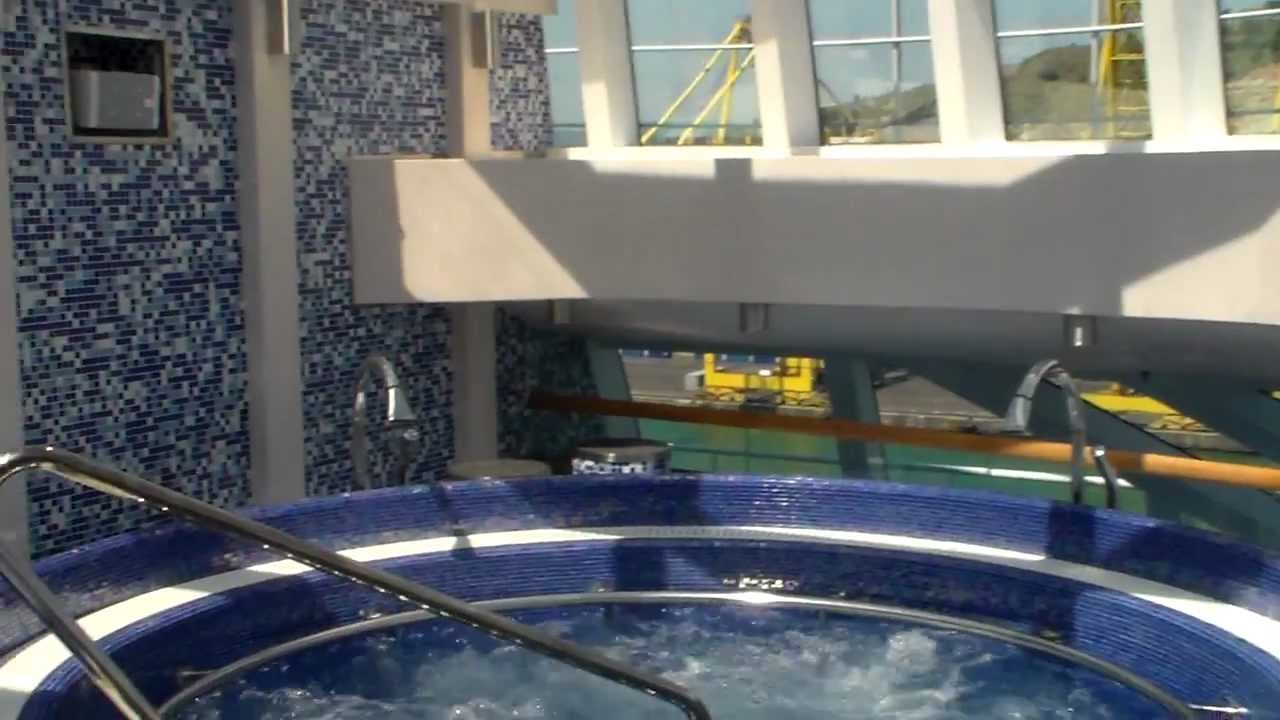 Carnival Breeze Review Thalassotherapy Pool Youtube
