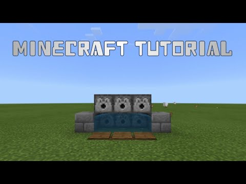 How To Make A Rapid Fire TNT Cannon In Minecraft!!!!!
