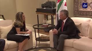 جلالة الملك يستقبل وزيرة خارجية كندا - (30-10-2018)