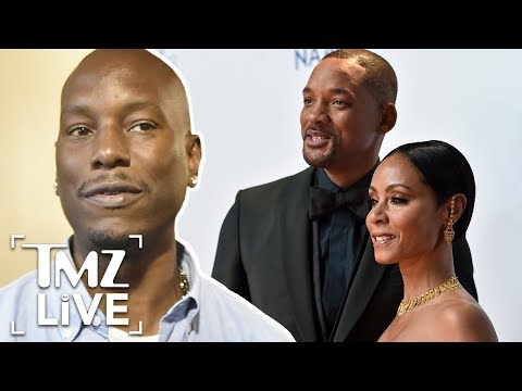Will Smith & Jada Didn't Give Tyrse $5M?! | TMZ Live